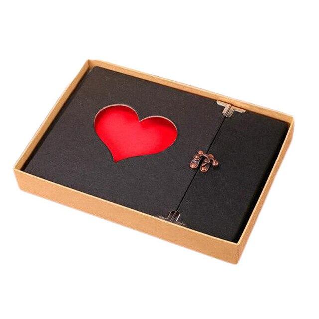 Nova 10 polegada diy oco amor álbum série sucata de etiquetas do casamento da foto do bebê álbum artesanal DIY amante criativa memórias coleção