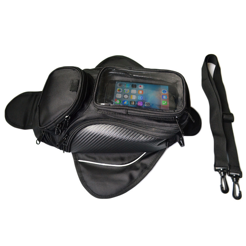Cool Waterproof Motorcycle Tang Bag Storage Hanging Belt Fanny Pack