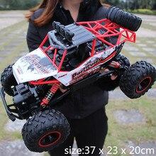 RC автомобилей 1/12 4WD рок сканеры 4×4 вождения автомобиля Double моторы Bigfoot автомобиль дистанционного Управление модель автомобиля внедорожник игрушка