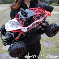 RC Car 1 12 4WD Rock Crawlers 4x4 Driving Car Double Motors Drive Bigfoot Car Remote