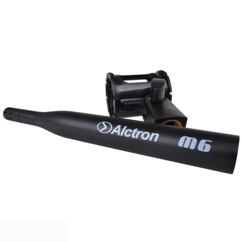 Alctron M6 profesional de medición de precisión micrófono de condensador para teatros en los estudios de grabación-in micrófonos from Productos electrónicos    1