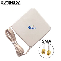 35dBi GSM 4G LTE Antenna SMA Male High Gain External Indoor WIFI Signal Amplifier Booster ANT for Huawei E5375 E589 E5776