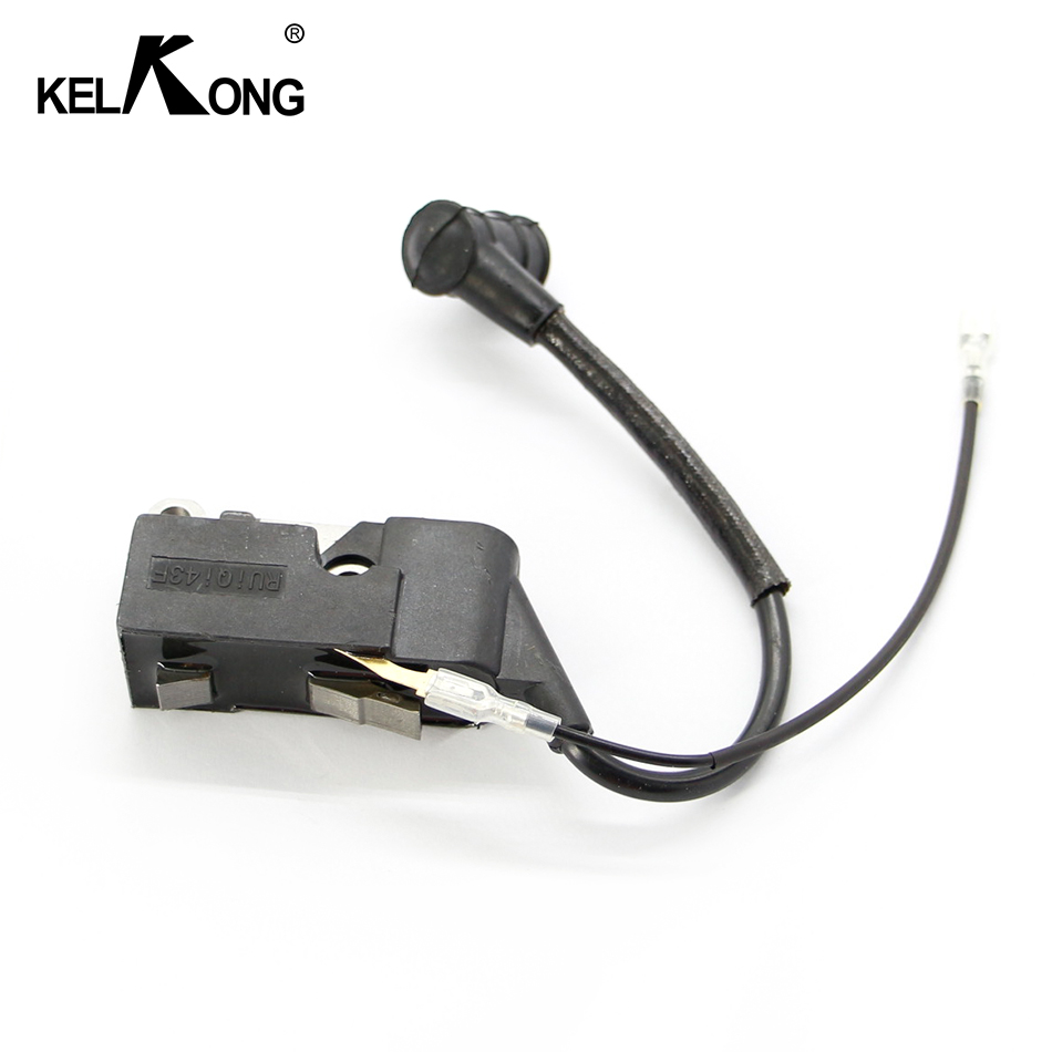KELKONG Ignition Coil Parts for Chinese Chainsaw 45cc 52cc 58cc 4500 5200 5800 Carburetor Mould Spare Parts-in Motorbike Ingition from Automobiles & Motorcycles