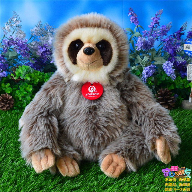 Doll Plush Toy Artificial Animal Gift Sloth Doll Three Toed Sloth