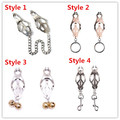 Fetish Clover Butterfly Metal Nipple Clamps Bdsm Bondage Sex Toys Labia Clitoris Clips Nipple Clamps Sex Slave BDSM Sex Products