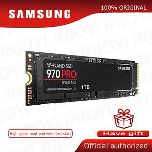Image 1 - Dysk Samsung SSD 970 PRO M.2 SSD M2 SSD dysk twardy HD SSD 1TB półprzewodnikowy dysk twardy 512 dysk twardy o pojemności NVMe PCIe konwencji MLC 2280 do laptopa