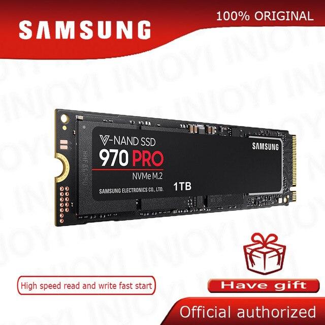 Dysk Samsung SSD 970 PRO M.2 SSD M2 SSD dysk twardy HD SSD 1TB półprzewodnikowy dysk twardy 512 dysk twardy o pojemności NVMe PCIe konwencji MLC 2280 do laptopa