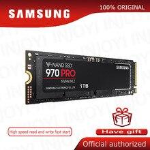 SAMSUNG SSD 970 PRO M.2 SSD M2 SSD Hard Drive SSD 1TB Solid State Hard Disk 512GB HDD NVMe PCIe MLC 2280 สำหรับแล็ปท็อปคอมพิวเตอร์