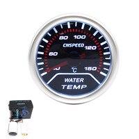2 52mm Smoke Lens Pointer Water Temperature Temp Gauge Auto Meter Auto Gauge Tachometer Car Meter