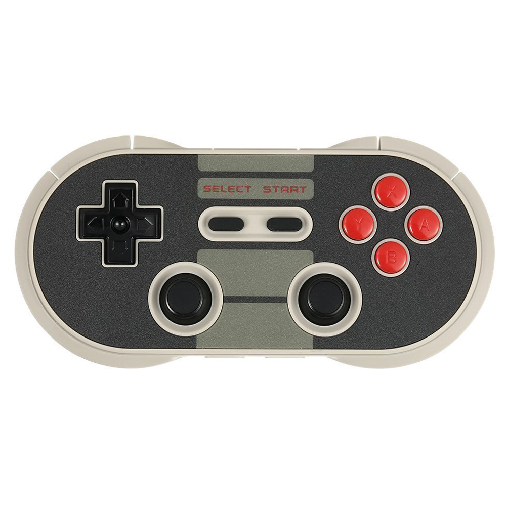 8Bitdo Wireless Bluetooth NES30 Controller Bluetooth 3.0 Gamepad Multi Working Mode Game Console for iOS Android PC 8bitdo wireless controller retro receiver for nes black