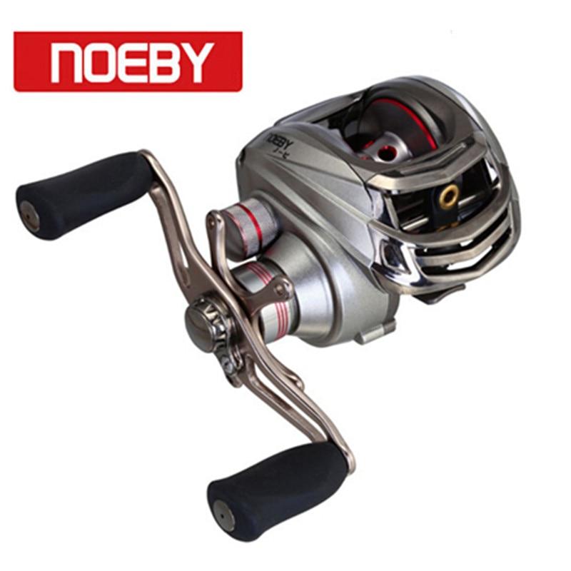 NOEBY Baitcasting Fishing Reel 6.3:1 11BB Moulinet Casting De Peche Carretilha Hengelsport Molens Vismolen