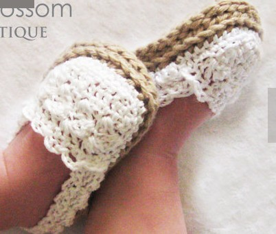 CROCHET PATTERN Baby Girl Espadrille Shoes 660 Sizes Included From 60 Mesmerizing Baby Girl Crochet Patterns