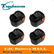 4PCS High Quality Power Tool Battery 12V 2000mAh Ni CD For AEG B1214G B1215R B1220R M1230R