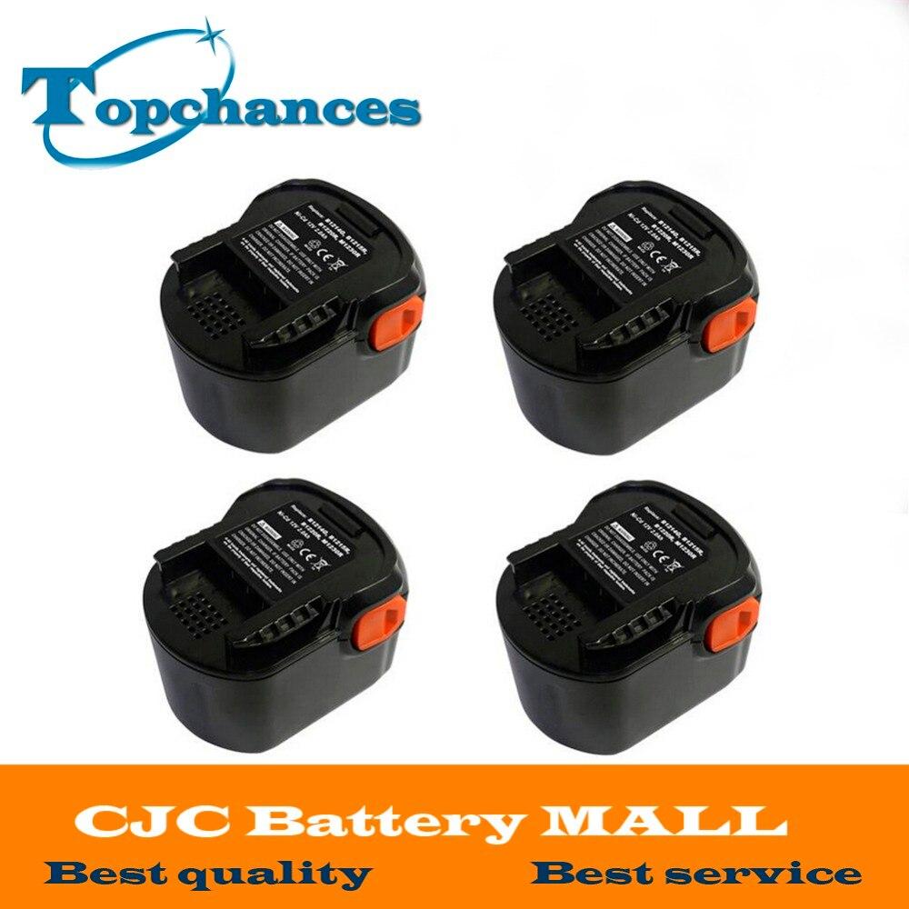 4PCS High Quality font b Power b font font b Tool b font Battery 12V 2000mAh