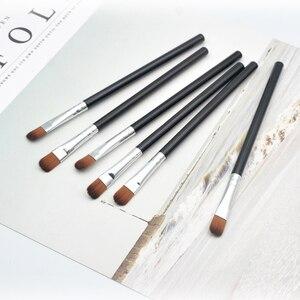 Image 2 - BBL Mini pinceau correcteur professionnel pinceaux de maquillage plats pour une couverture complète et un mélange de précision, fard à paupières Pincel Maquiagem