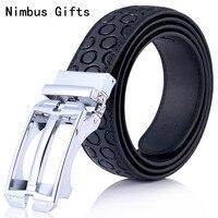 Nimbus Gifts Brand Sale Designer Genuine Leather F Belts Men Belts Buckle Leisure Waist Strap 5