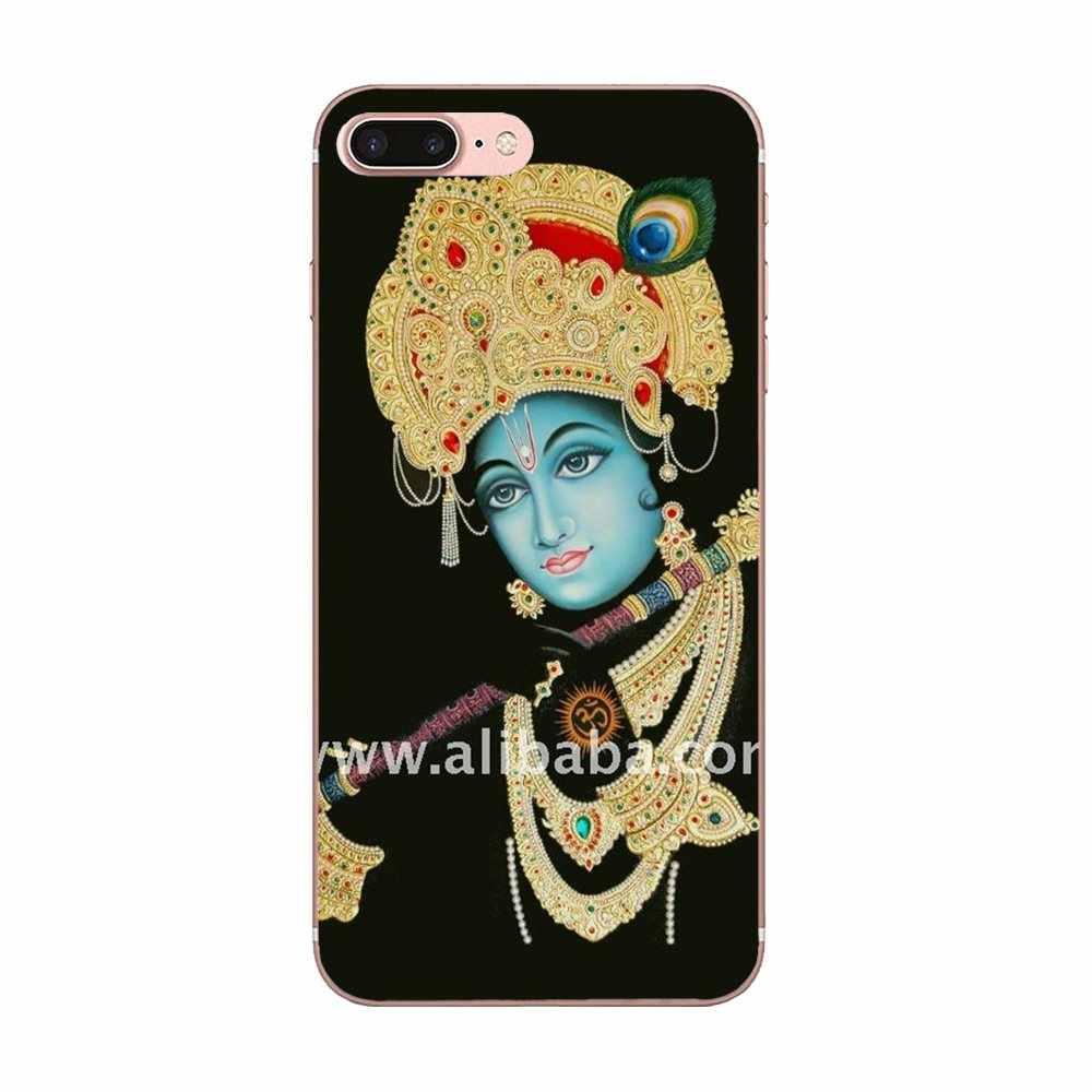 Indian God Lord Krishna Cute Phone Cases For Huawei P7 Honor