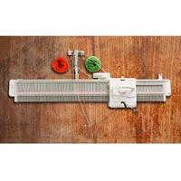 Brand New Silver Reed Studio LK150 6.5mm Mid Gauge Knitting Machine