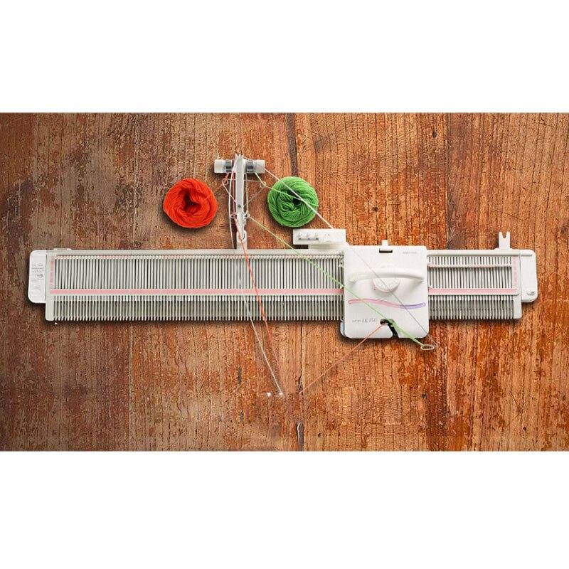 Flambant neuf Argent Roseau Studio LK150 6.5mm Mi Jauge Machine À Tricoter