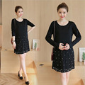 Fashion Soft Fabric nursing Dress Maternity Dress Summer Maternity Clothes for Pregnant Women New Elegant Maternity Clothes XXL