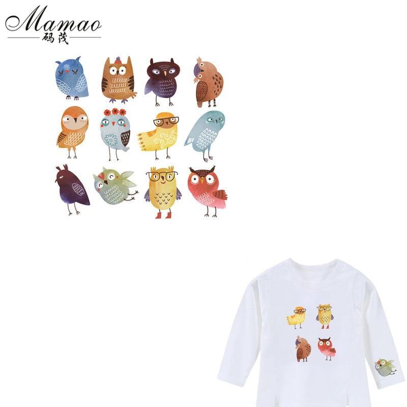 MAMAO Söt Uggla Patches För Kläder T-shirt Klänningar DIY - Konst, hantverk och sömnad