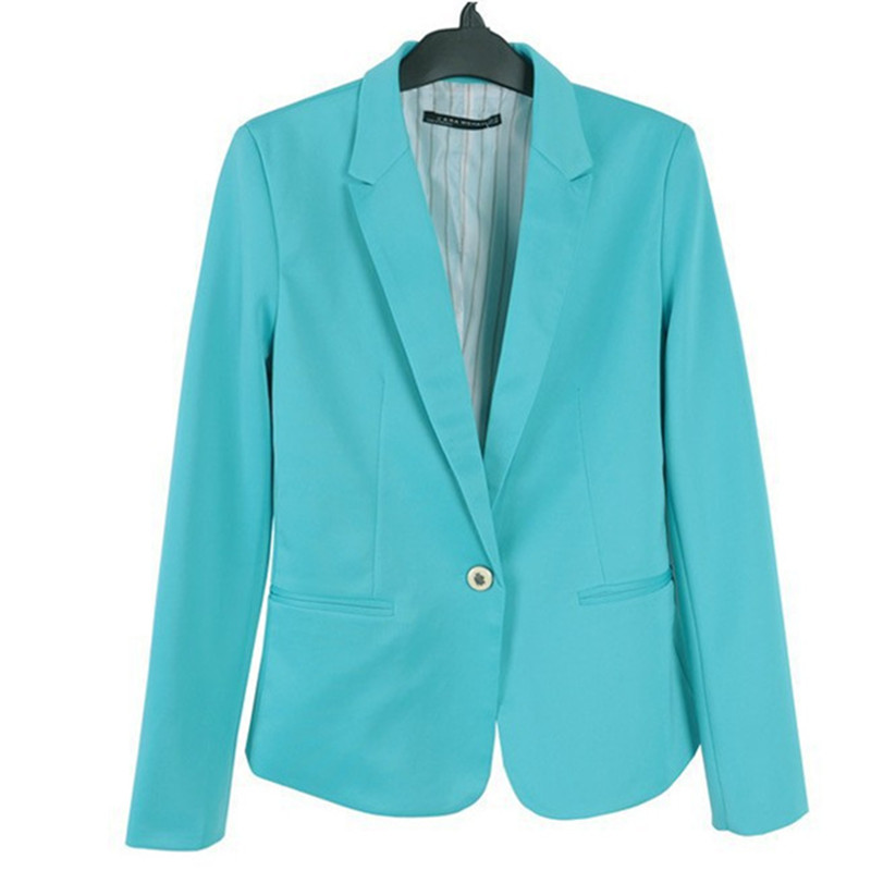 7 colors long sleeve plus size women blazers 2018 spring summer women blazers and jackets workwear white blazer ladies coats xxl