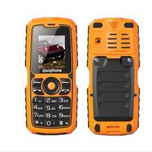 "Guophone v3s 1,77 ""dual sim karten taschenlampe bluetooth 4000 mah energienbank staubdicht wasserdichte handy ältere menschen mobil"