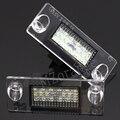 1 пара светодиодный подсветка номерного знака для Audi A4 B5 96-01 S5 B5 A3/S3/Sportback 97-03 A4/S4 Авангард номерной знак свет автомобильные запчасти лампа