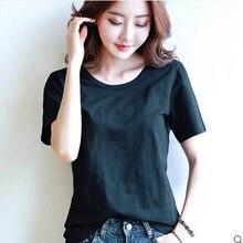 2017 summer style Ladies casual under shirt womens t-shirt roupas femininas short sleeve tshirt t shirts for women-5pieces