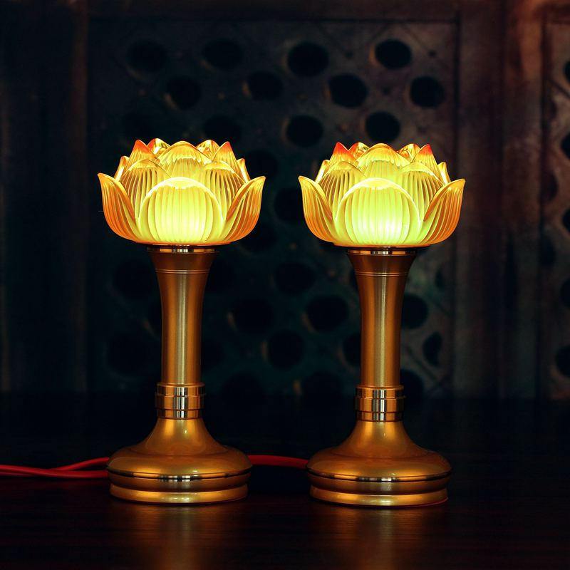 Lotus Flower Temple Buddha Lamp LED Alloy and Colorful Glazed Buddha Azure Stone Light Lamps with Plug Night light MonsterzzzLotus Flower Temple Buddha Lamp LED Alloy and Colorful Glazed Buddha Azure Stone Light Lamps with Plug Night light Monsterzzz
