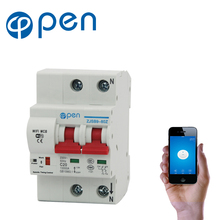OPEN 2P 20A Remote control Wifi Circuit Breaker /Smart Switch/ Intelligent Automatic Recloser overload short circuit protection