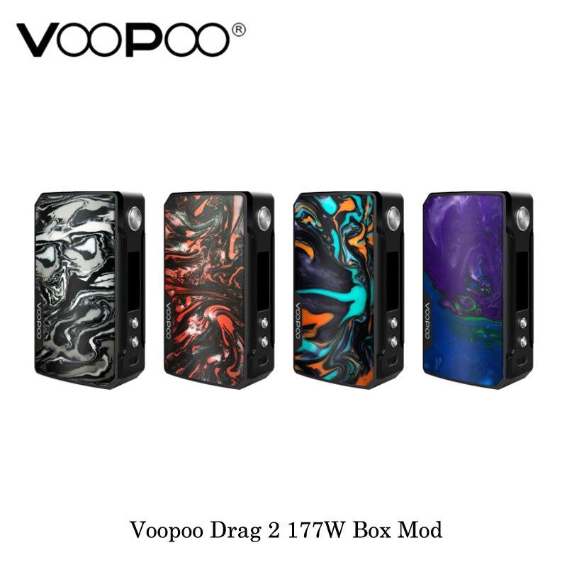 Cigarette électronique Voopoo Glisser 2 177 w TC Boîte Mod GÈNE. FIT Puce Alimenté Par Double 18650 Batterie Vaporisateur Vaporisateur Kit VS VOOPOO 157 w - 2