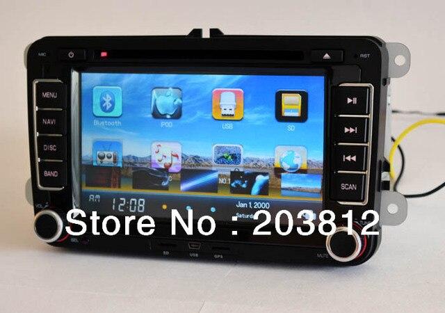 VW Car DVD player with GPS TV Radio for Volkswagen Bora Polo Caddy Passat CC Tiguan Jetta Scirocco Sharan Eos Touran