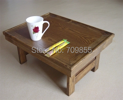 korean furniture table folding legs rectangle 5139cm living room traditional antique korean oriental design asian style furniture korean antique style 49