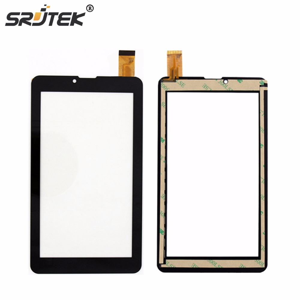 все цены на  Best Quality 7 inch Black for Supra M72KG Touch Screen Digitizer Glass Sensor Tablet Pc Repairment Parts+Free shipping  онлайн