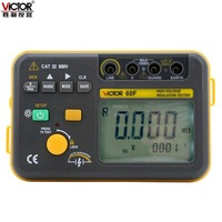 Victory echten digitalen isolationswiderstand tester VC60F digitale Mega ohm meter isolierung tester 2500 V