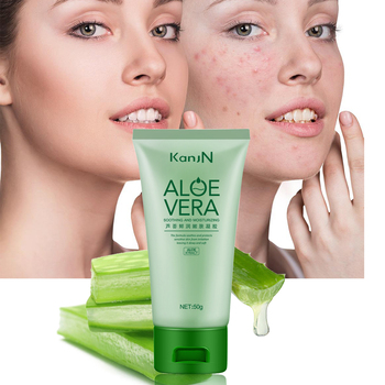 Natural Aloe Vera Gel Anti Acne Hydrating Whitening Day Creams & Moisturizers