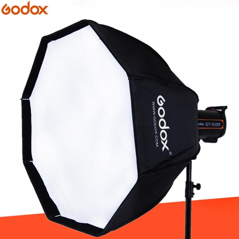 Godox UE-120cm Bowens восьмиугольный зонтик Softbox Мягкая коробка с креплением Bowens для байонета Bowens студия вспышки света