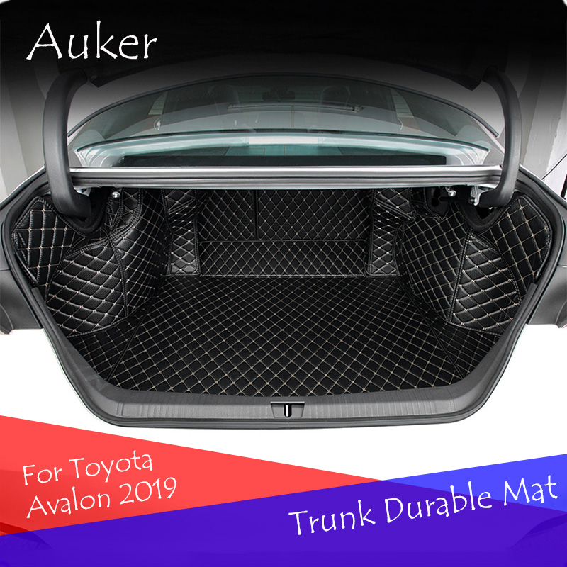 Rear Tail Car Trunk Mat Durable Boot Carpets Full Coverage Cover Protective Car Styling For Toyota Avalon 2019