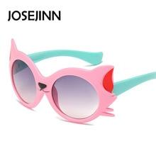 cheap clildren cat typle Sunglasses colorful frame Kids Designer Boy Girl sun Glasses Oculos De Sol