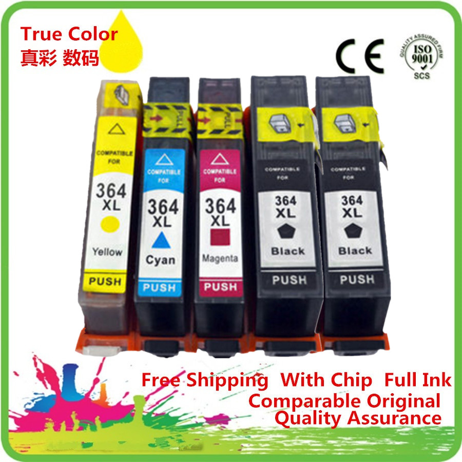 Replacement <font><b>364</b></font> XL 364XL Ink Cartridge Replacemen For HP364XL HP364 Deskjet 3070A 3520 3522 3524 Officejet 4620 image