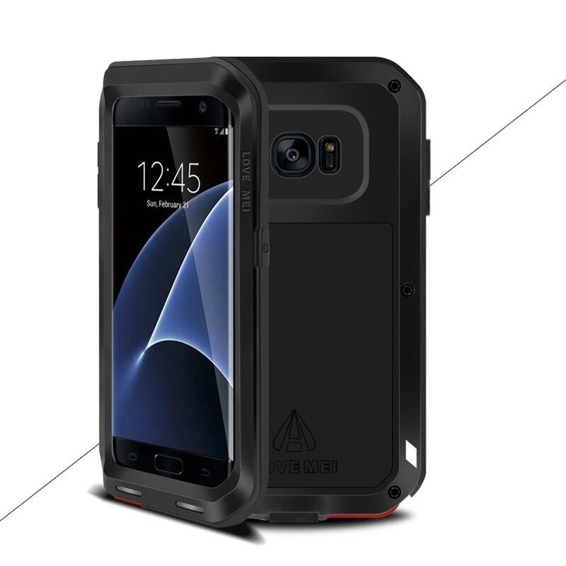 bilder für Liebe Mei Rüstung Fall Wasserdichte Abdeckung für Samsung Galaxy S7 Rand Fundas Shell Gehäuse Wasser/Dirt/Shock Proof regen Beweis Capa