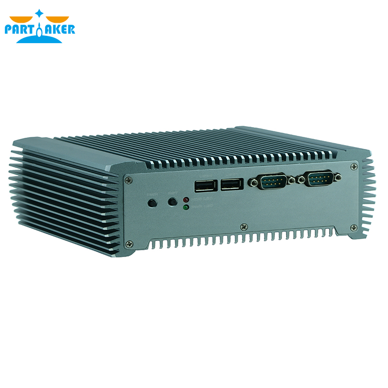 Partaker Q10 Embedded Fanless Industrial Mini PC Intel Core I5 3317u C1037U Support Wake On LAN/PXE