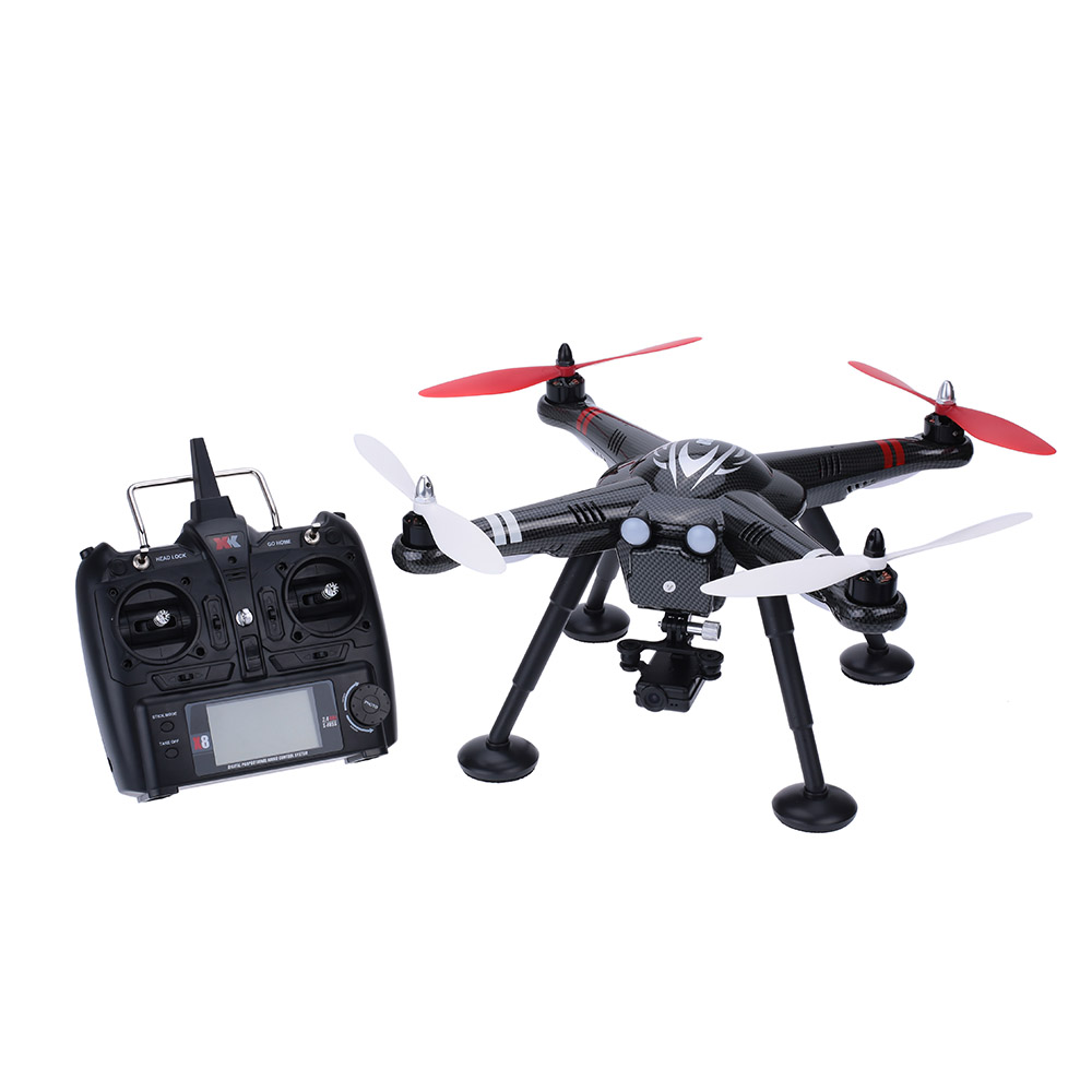 Original Detect X380-B 2.4GHz RC Quadcopter RTF RC Drones with 1080P HD Camera and Damping Gimbal yuneec q500 typhoon quadcopter handheld cgo steadygrip gimbal black