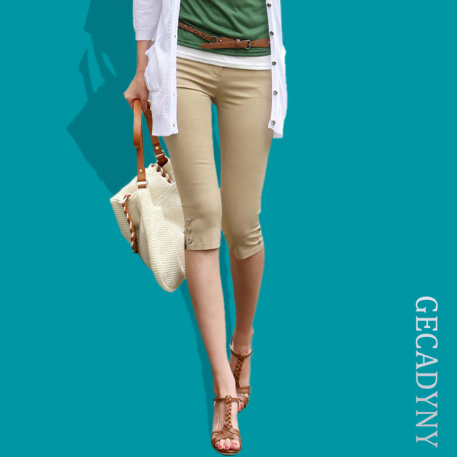 Aliexpress.com : Buy 2017 Women Casual Slim Candy Color Pants ...