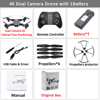 Visuo XS816 RC Drone with 50 Times Zoom WiFi FPV 4K Dual Camera Optical Flow Quadcopter Foldable Selfie Dron VS SG106 M70 19