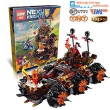 2016 Nieuwe Lepin 14018 Nexoe Ridders Algemene Magmars Schicksalsmobil Building Set Minifiguren Bricks Minifiguurtje Speelgoed