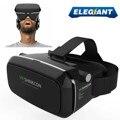 ELEGIANT Виртуальной Реальности 360 HD Просмотр Захватывающие 3D VR Очки Google Картон Видеоигры Гарнитура 3.5-6.0 ''для iPhone Android