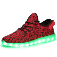 2018 Casual Shoes Led Shoes Men Lighted Shoes for New Arrival Superstar Men LED Light Shoes Fashion