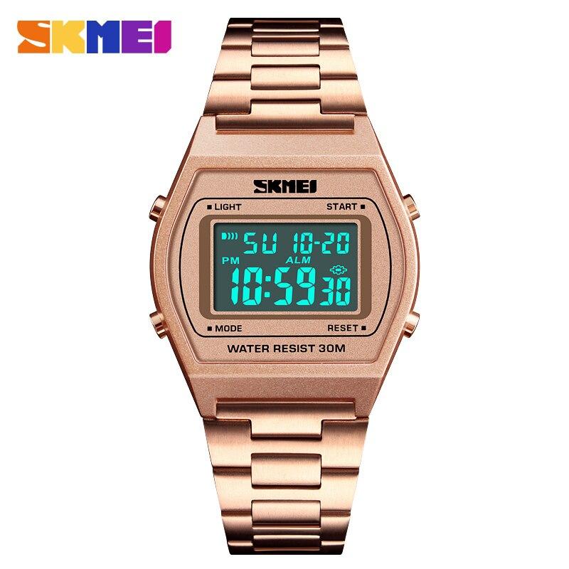 Watches Men Waterproof Countdown Digital LED Watches Outdoor Military Wristwatches Clock Men Relogio Masculino SKMEI 2018 все цены